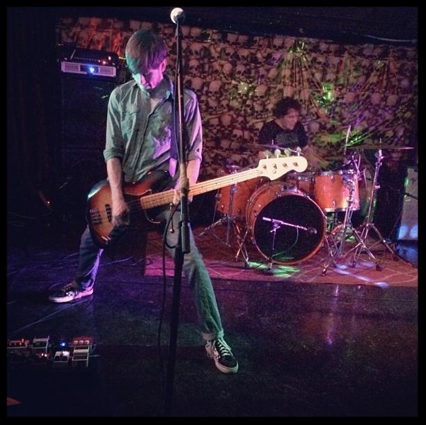 Frankenstein Jazz Bass & Monarch / White Light combo in full effect. Photo: Matt Stansberry