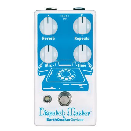 """""""I use the  Dispatch Master  when I want a vibey wash. What's so great about that pedal is that it sits in the background and never gets in the way of the initial guitar sound. No matter how I turn the knobs it's always rich. It's the equivalent to a fresh pasta w/browned butter sauce with truffles. Delish. """""""