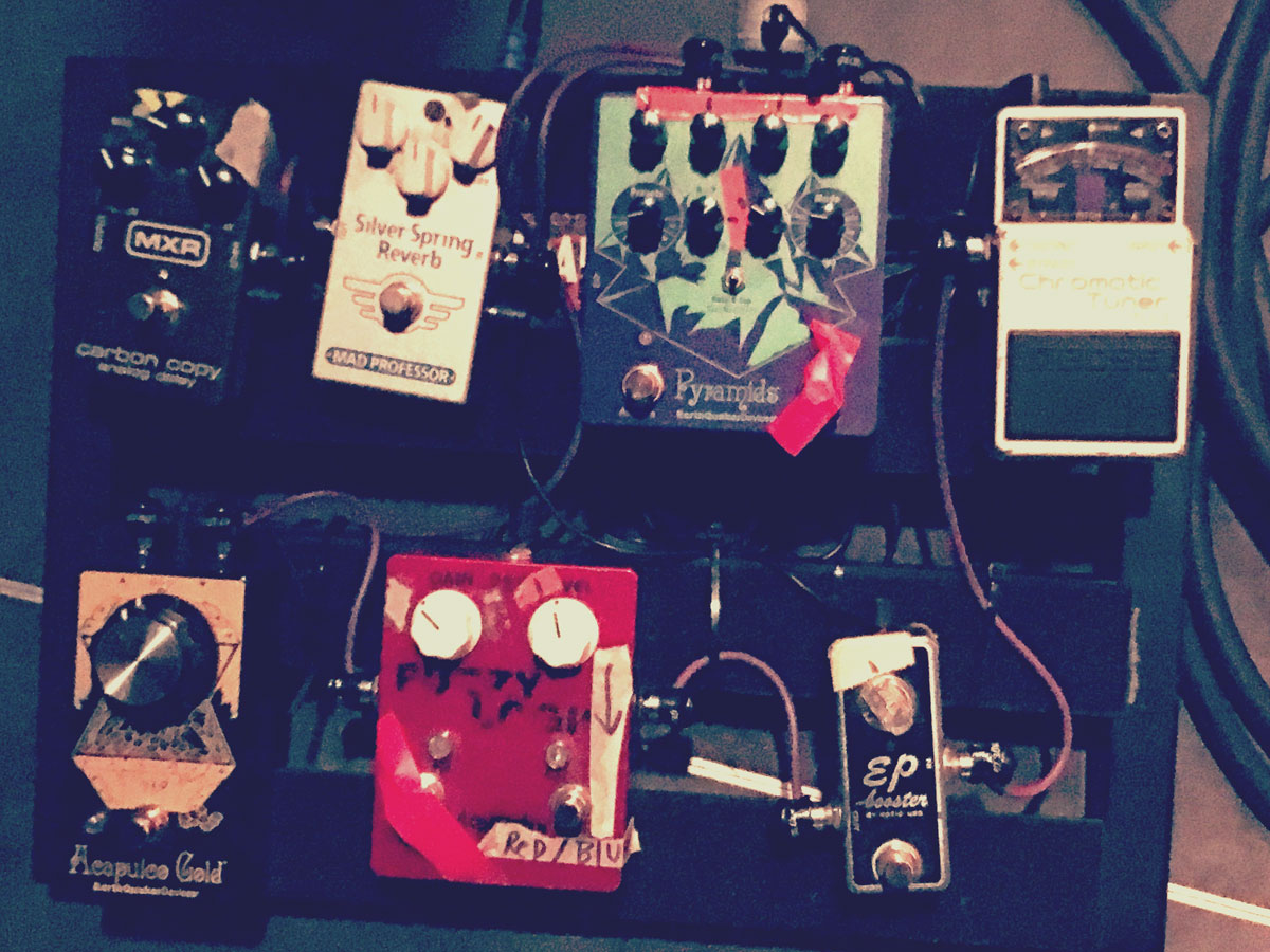 Mary Timony's Pedalbaord