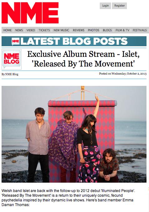 NME exclusive album stream .png