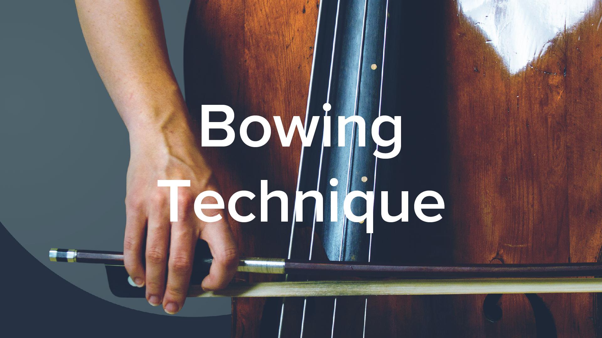 Double Bass Bowing Technique - Lauren Pierce