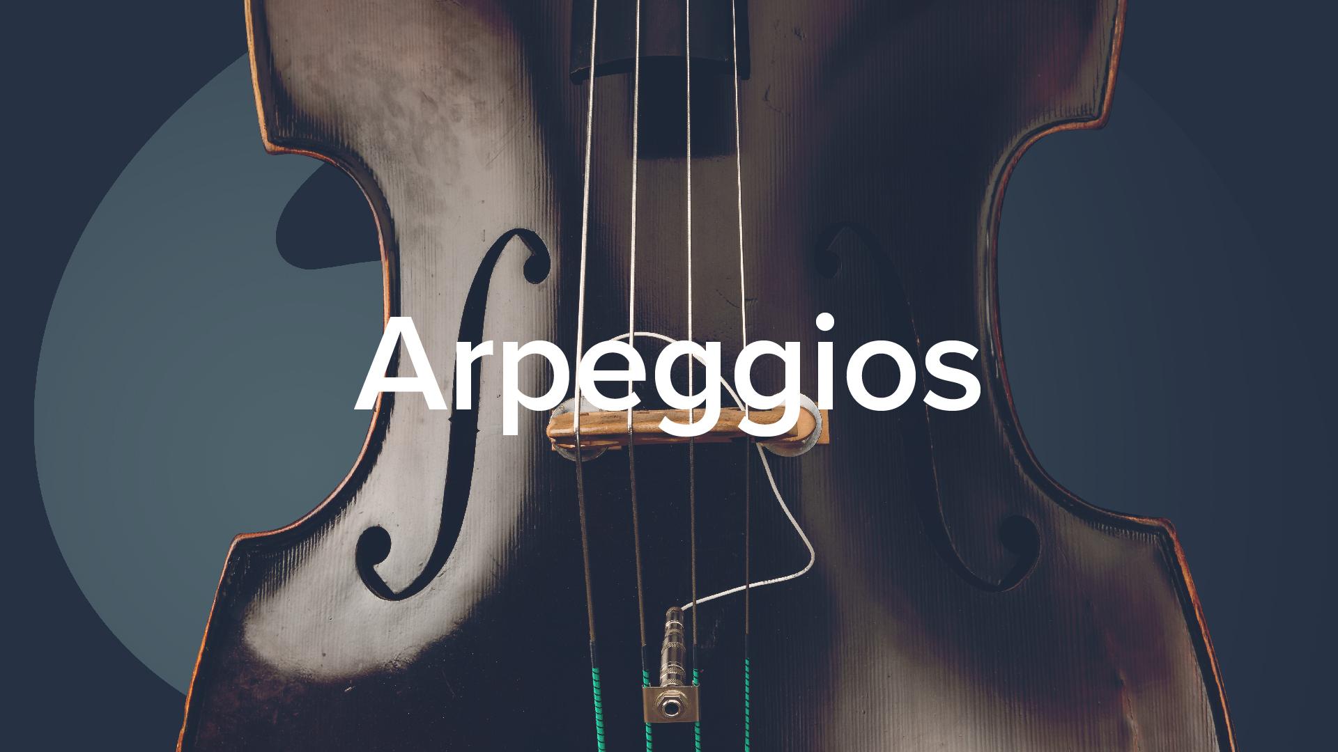 Double Bass Arpeggios - Geoff Chalmers