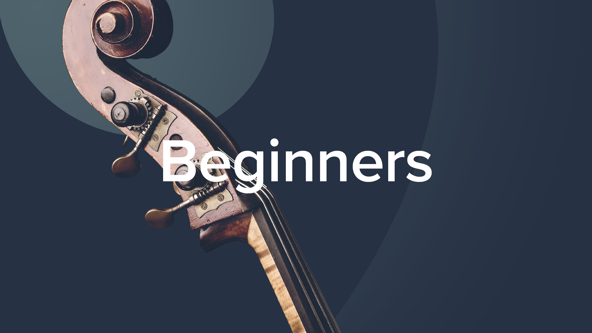 'Beginner's Double Bass' by Geoff Chalmers. 43 lessons, 5+hrs.