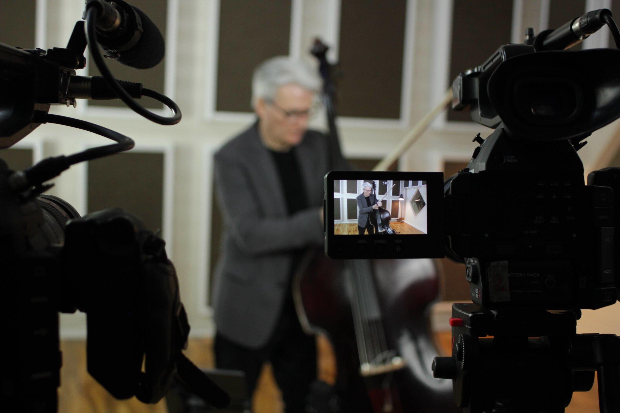 John Goldsby on set.JPG