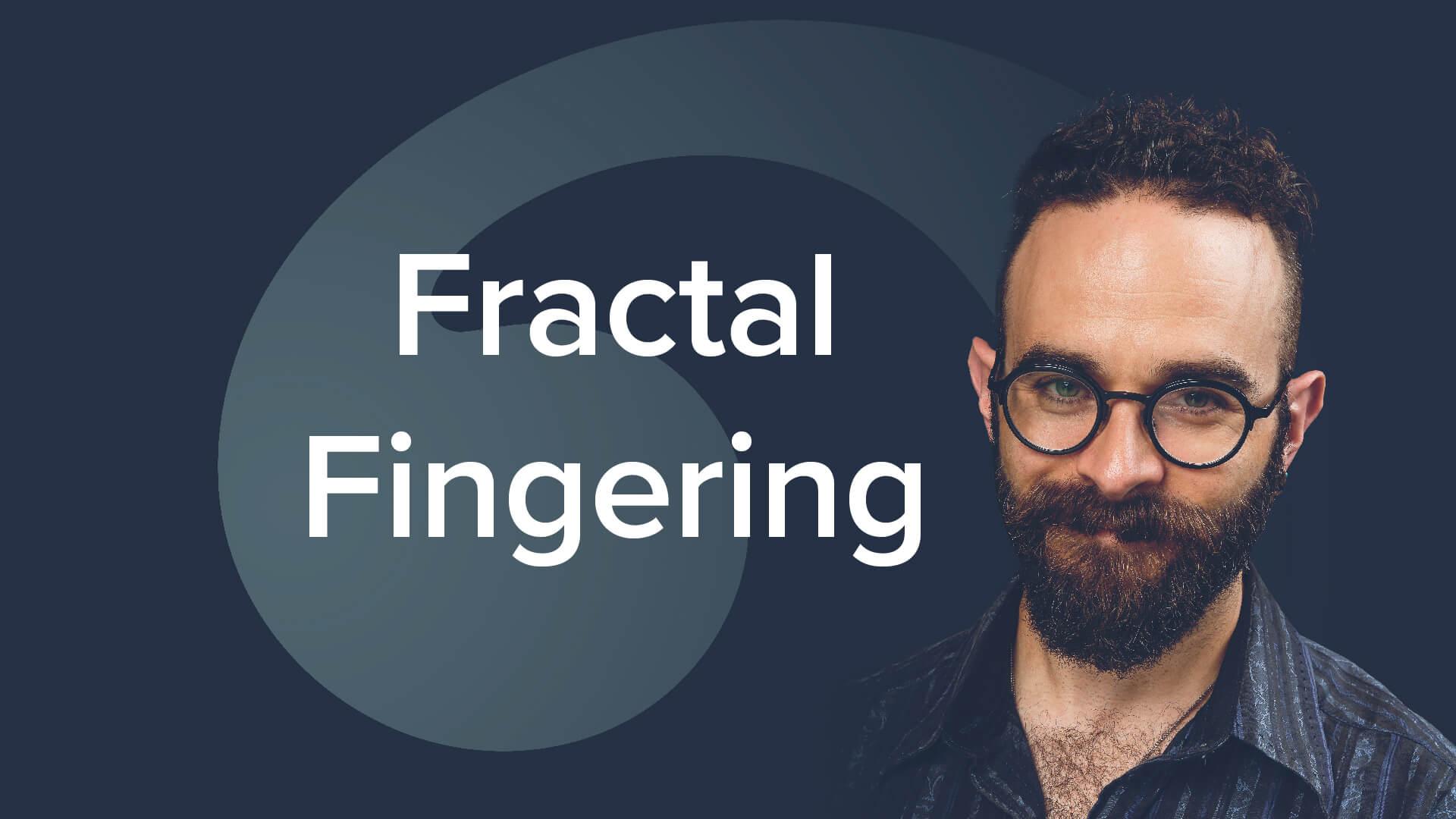 Fractal Fingering by David Allen Moore