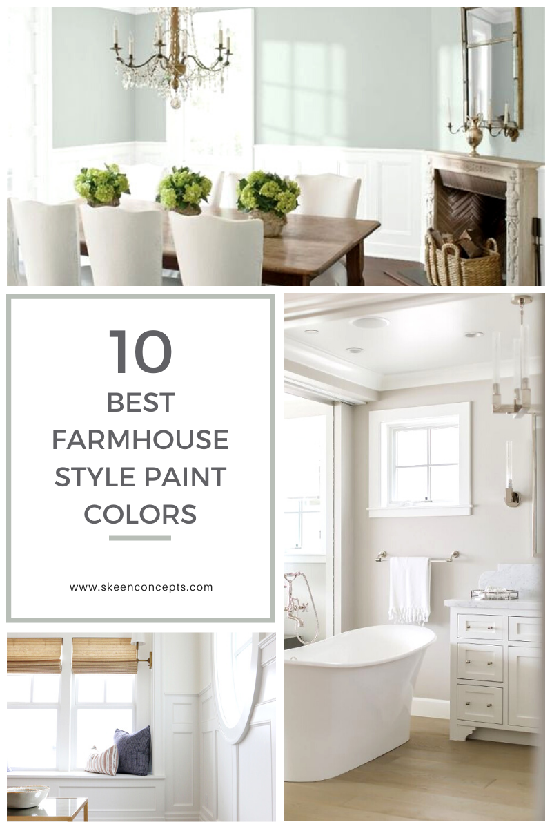 10 Best Benjamin Moore Farmhouse Style Paint Colors For Your Home Skeen Concepts