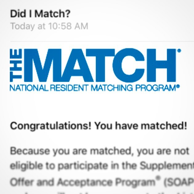 'Twas the night before Match Day & all through the world, every medical student (participating in the NRMP Match) was stirring, waiting impatiently for their future to be unfurled... 😬 Congratulations to all those matching tomorrow & best of luck to everyone participating in the SOAP — you've got this! Things might not always work out how we've planned, but just have faith that things will indeed fall into place. May your wildest residency dreams come true! 🎉