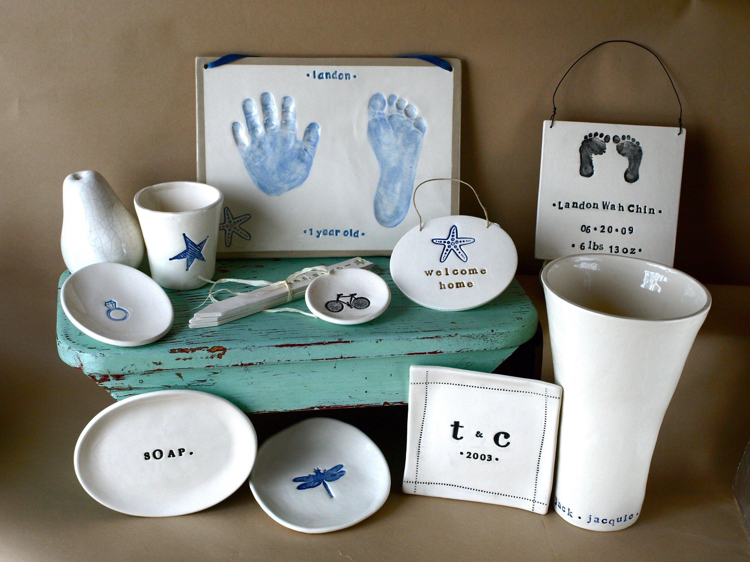 Zinnia Designs Custom ceramics