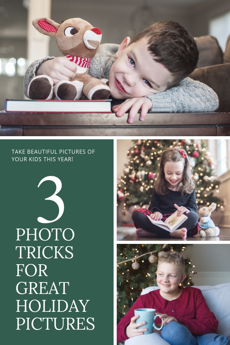 THREE TRICKS FOR CHRISTMAS PICTURES -