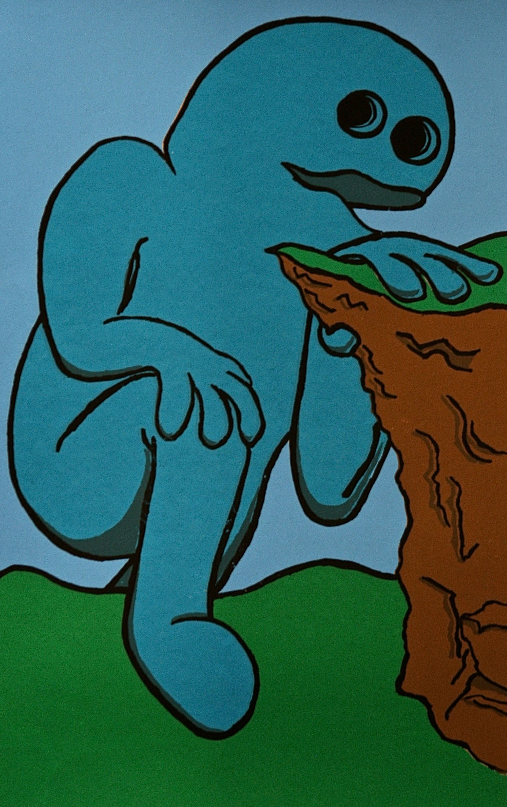 Versicolor Friend (Blue)
