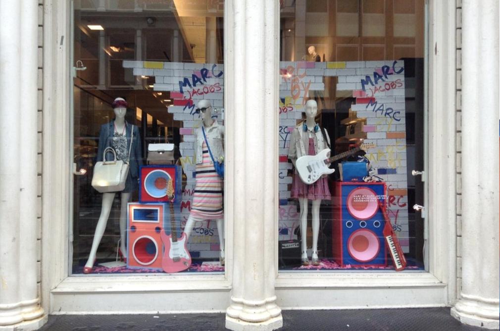 Marc Jacobs NYFW windows. 2013