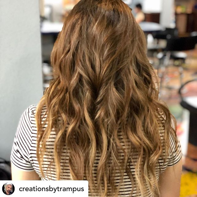 Posted @withrepost • @creationsbytrampus @wellahair @redken @olaplex  #winstonsalemnorthcarolina#balayage #nchairstylists #wsnc #glassdoorsalonandspa #downtownwinstonsalem #colorist #correctivecolor @glassdoorsalon