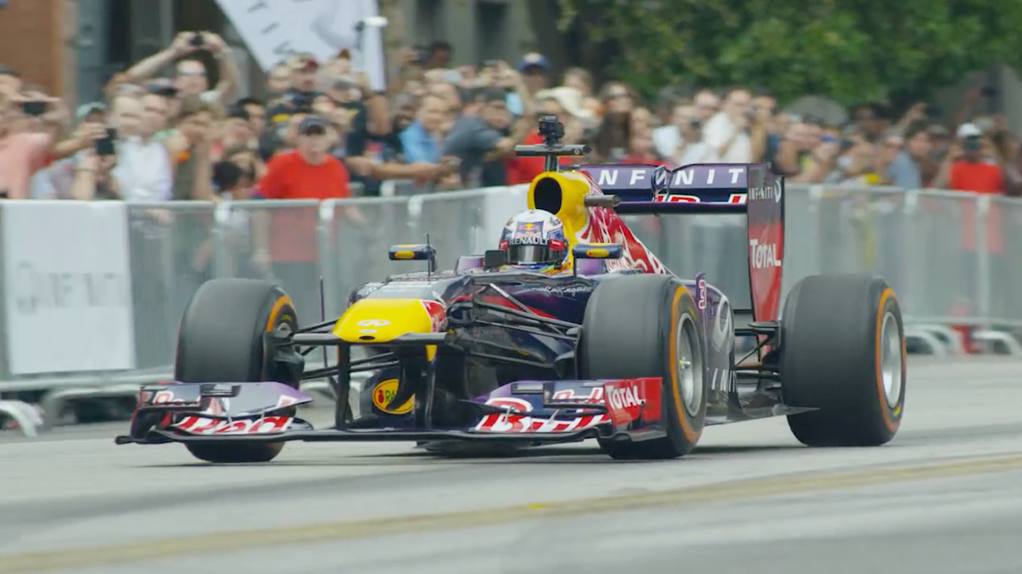 Infiniti Brings Formula One to the Streets of Austin