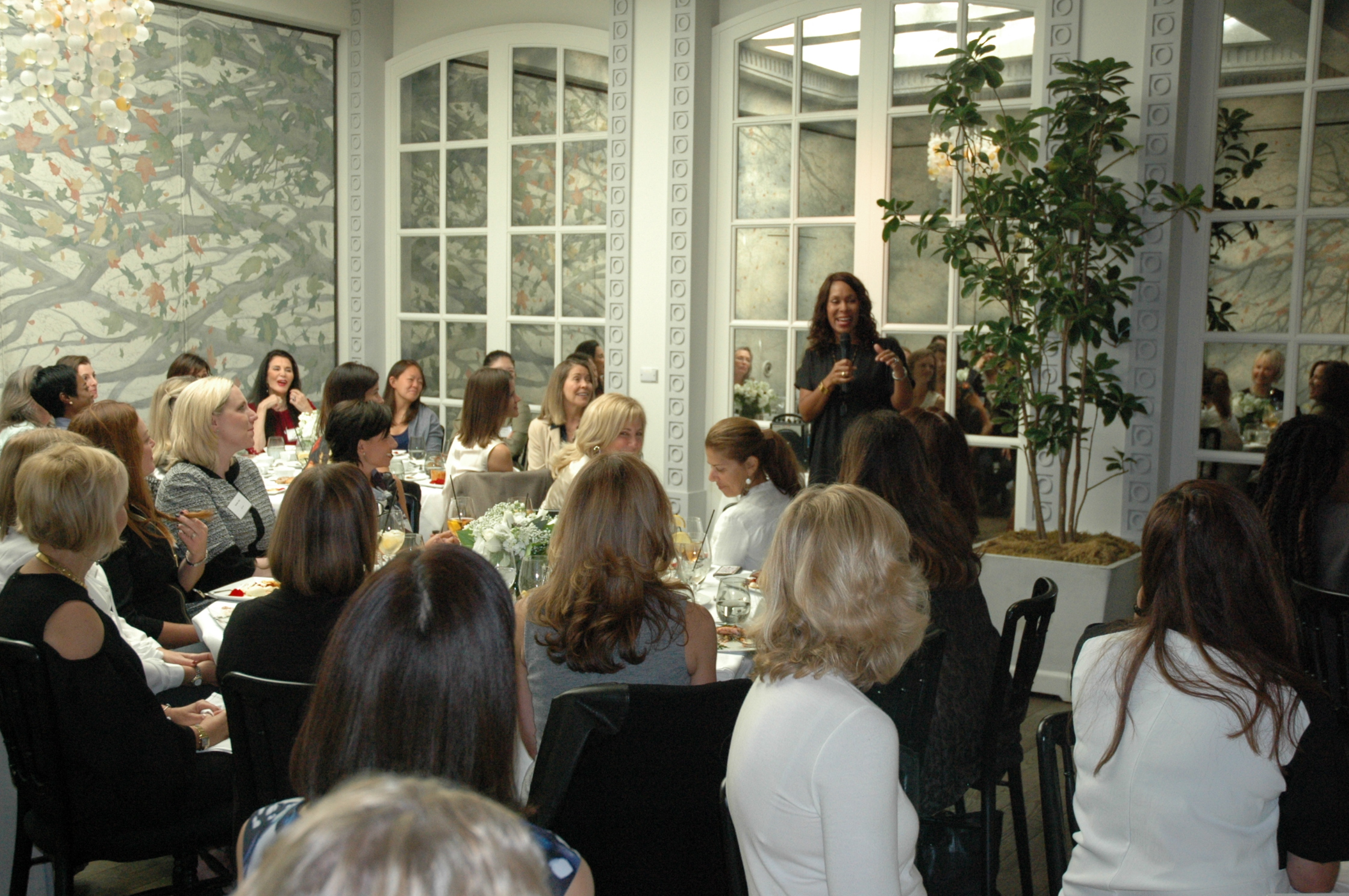 Sept 2016 - Channing Dungey, President, ABC Entertainment sharing her story with WLC