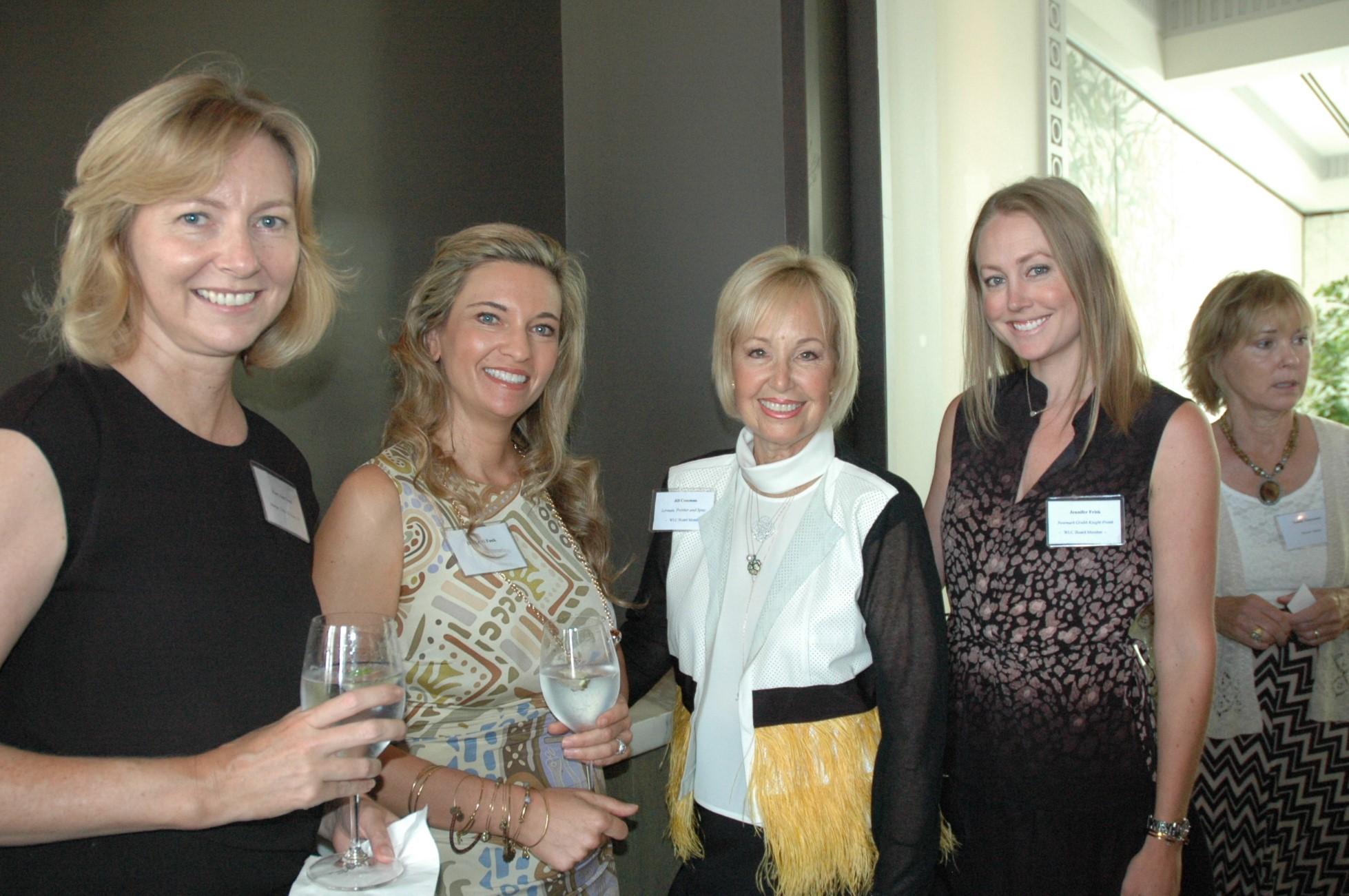 Mary Ann Todd, Dr. Kristi Funk, Jill Cossman, Jennifer Frisk
