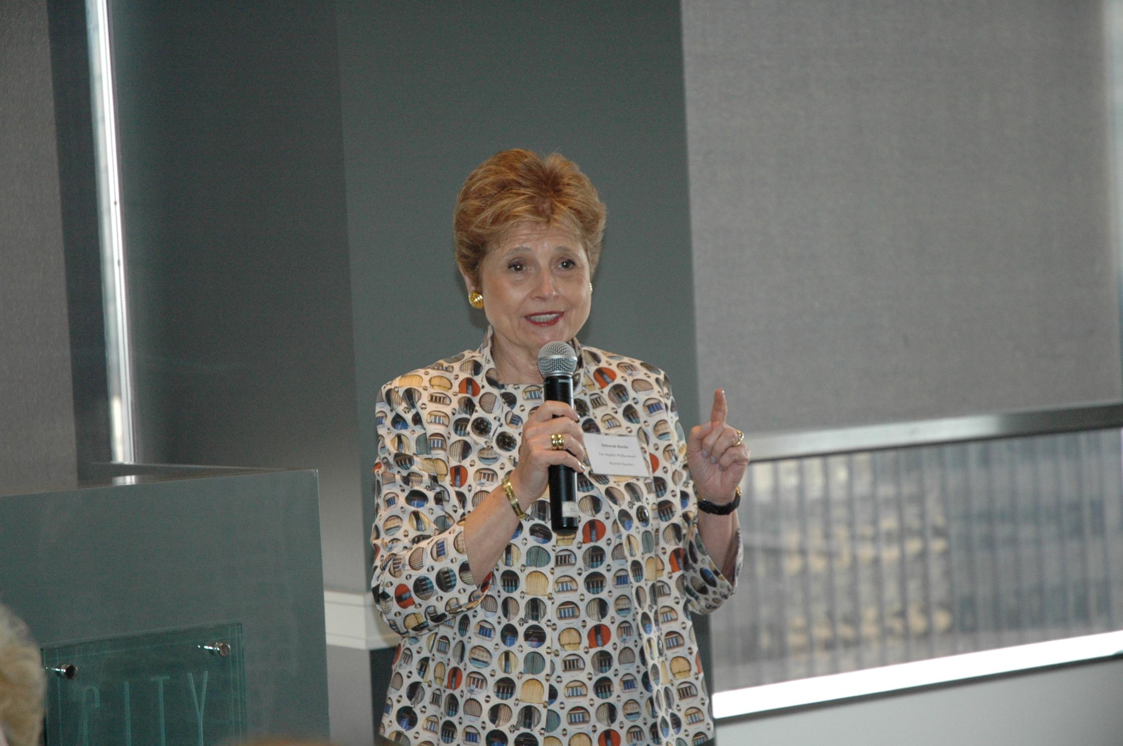 Oct 2014 - Deborah Borda