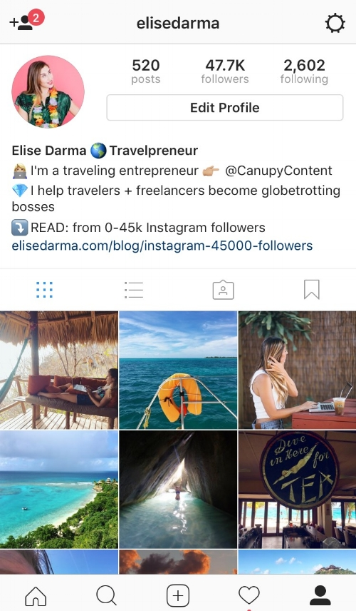 """If you're here, you're likely interested in Instagram growth – but why?   For some, it just feels good to get that dopamine hit when """"likes"""" go from 0 to 100, or when your account finally goes from 9,999 followers to the coveted 10k.  If you're interested in more than just the vanity metrics of Instagram – AKA turning your followers into customers or sales – then read on, friend."""