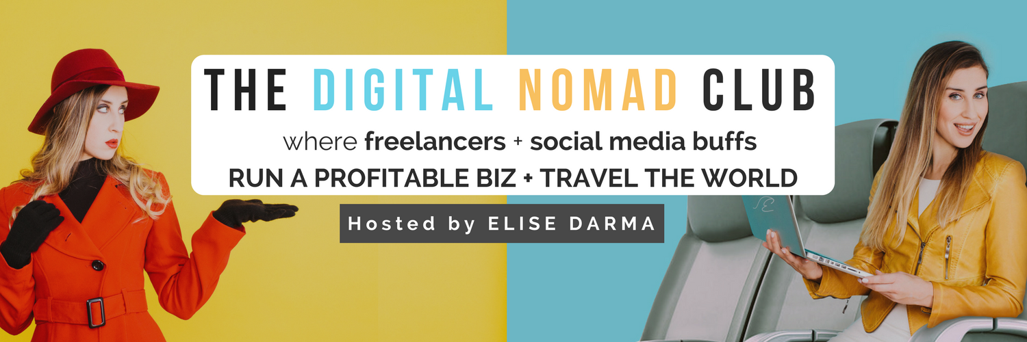 THE DIGITAL NOMAD CLUB FACEBOOK GROUP RULES - Elise Darma