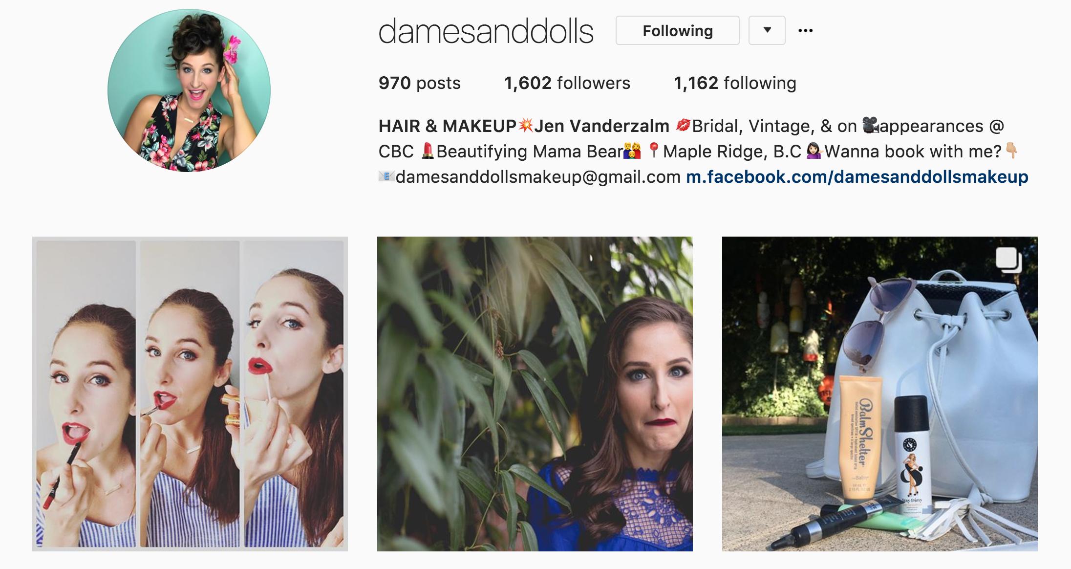 dames and dolls jen vanderzalm InstaGrowth Boss - Elise Darma