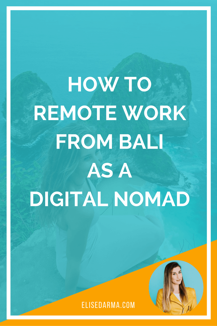 How to remote work from Bali as a digital nomad