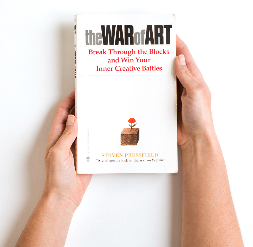 The War of Art Break Through the Blocks and Win Your Inner Creative Battles.jpg