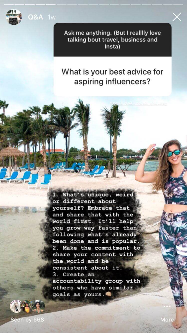 instagram stories elise darma takeover questions and answer feature influencer.jpeg