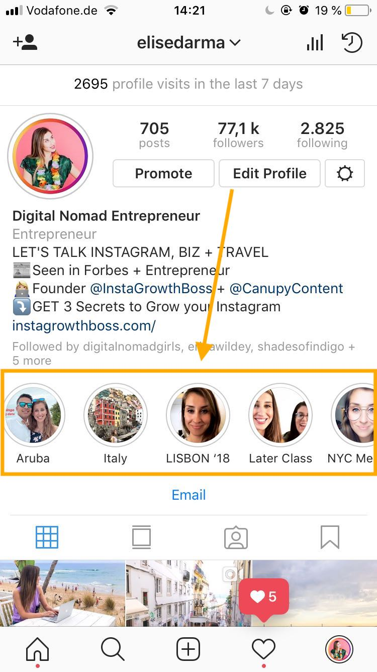 instagram highlights elise darma story.jpeg