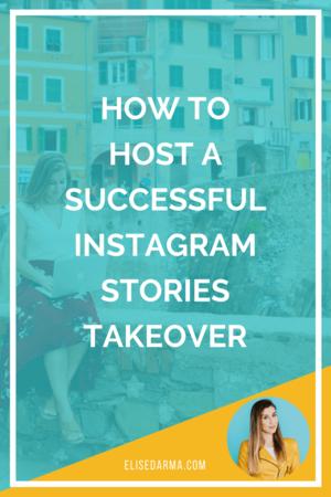 how to host instagram stories elise darma