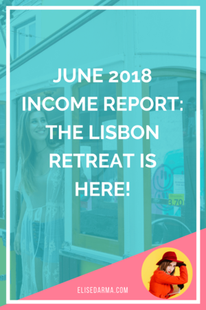 june income report elise darma lisbon retreat digital nomad