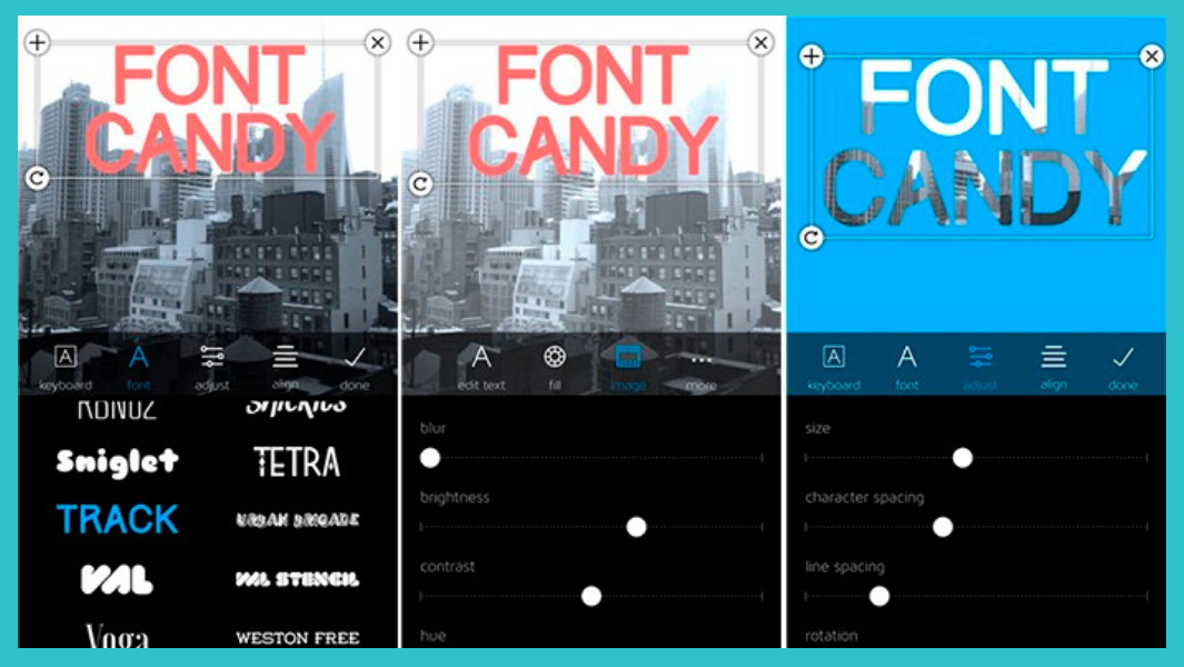 font candy elise darma instagram stories app.png