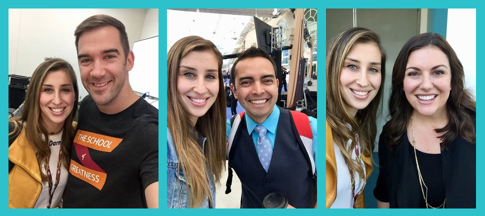For example… look at all the cool people I met at    Social Media Marketing World 2018   !