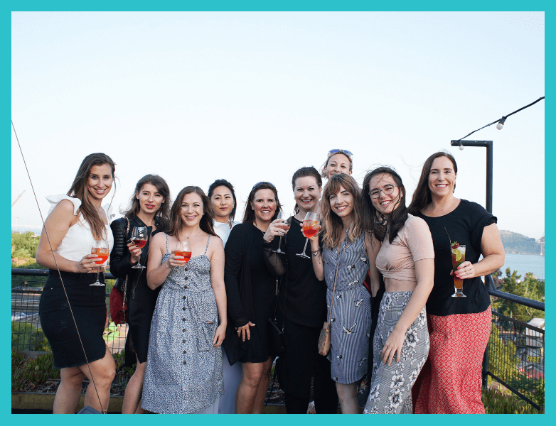 All the powerful ladies that came to my Lisbon    retreat    this year! We had great business chats, great food and a seriously great time in Portugal.
