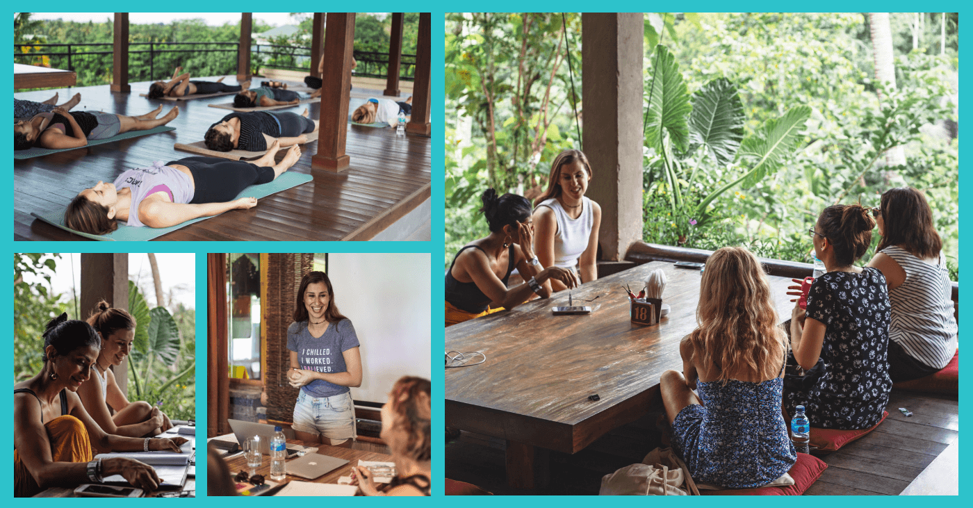 In case you were wondering… my    Bali retreat    went off without a hitch!  🤗  Here are a few sneak peeks of what we got up to; look out for a full retreat recap coming soon!