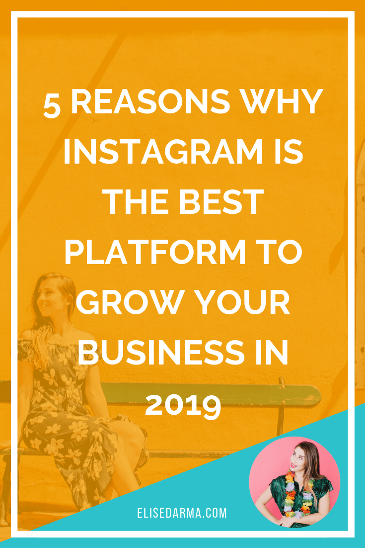 5 reasons why Instagram is the BEST platform to grow your business