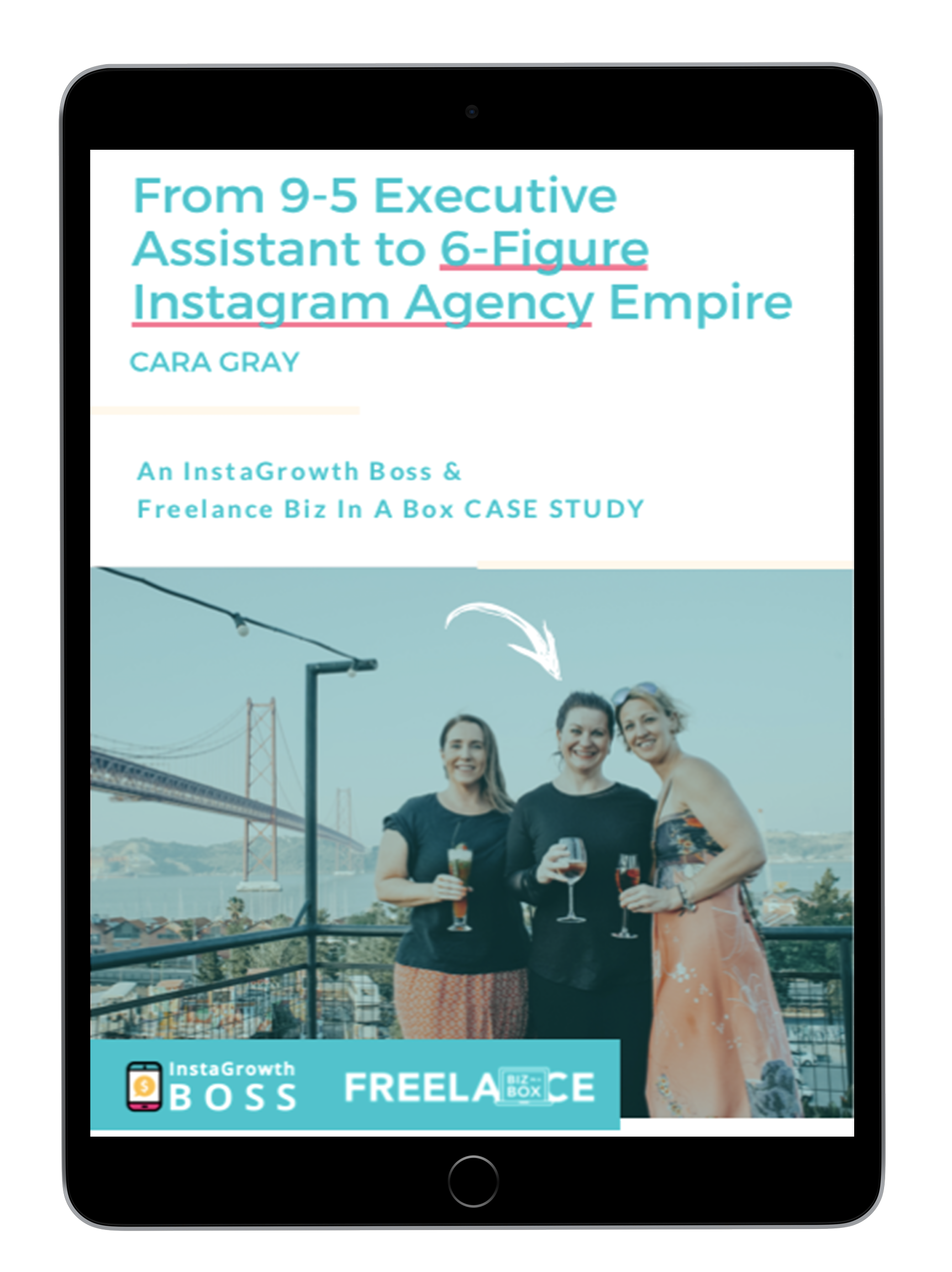 👆  Student Case Study: From 9-5 Employee to $100K Instagram Empire