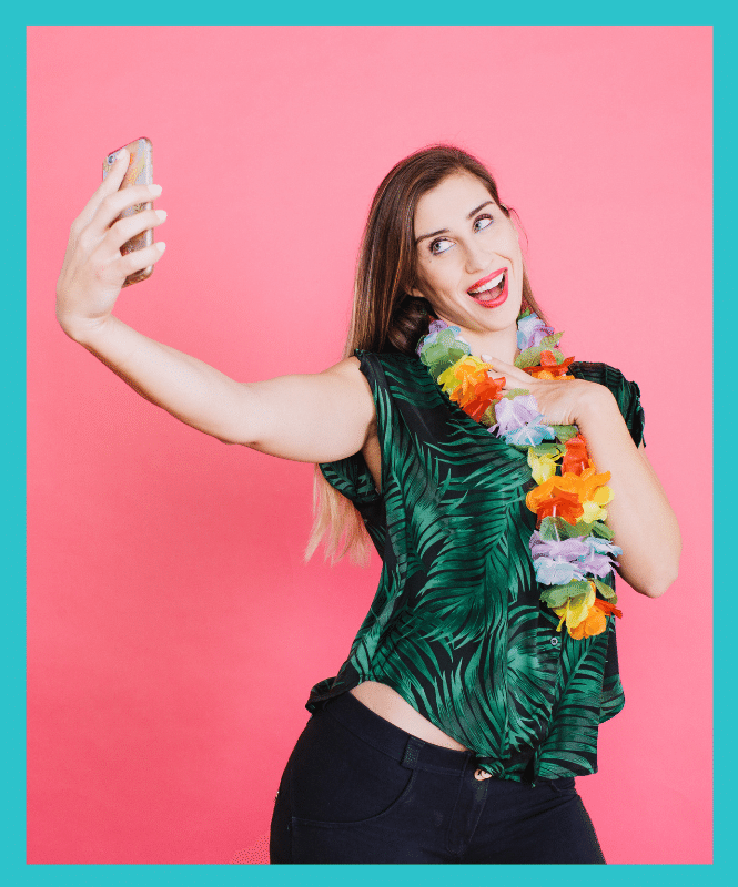 Well, aloha! Tropical vibes = Elise Darma.