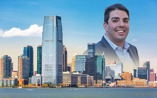 Jersey City and Modern Spaces CEO Eric Benaim (Credit: iStock and Donna Dotan Photography)