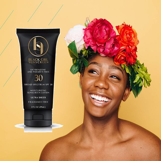 : : Product of the Day : :  @blackgirlsunscreen is specially formulated to protect deep skin tones and helps keep all skin tones shielded from harmful rays. Help your birthday suit shine without the burn at bloomblush.co 📷– Autumn Goodman  #selfcare #blackgirlsunscreen #lovebloomblush