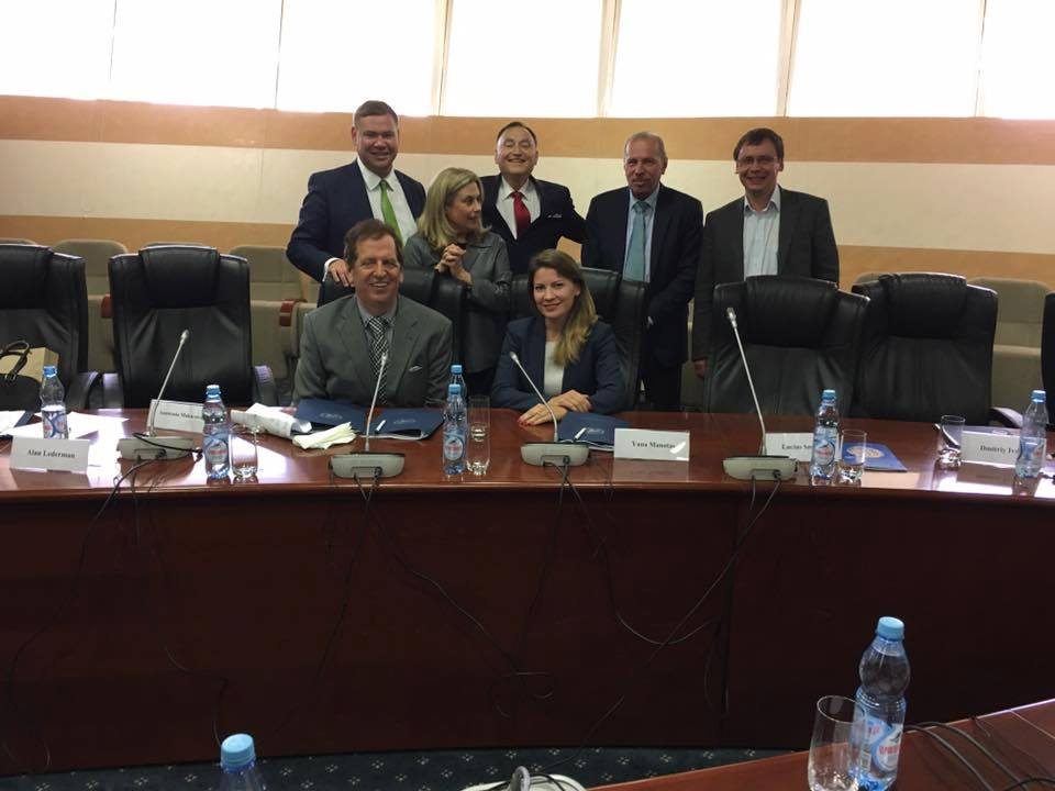Real Estate Attorney Yana Manotas spoke at the Russian-American Business Seminar in Moscow.