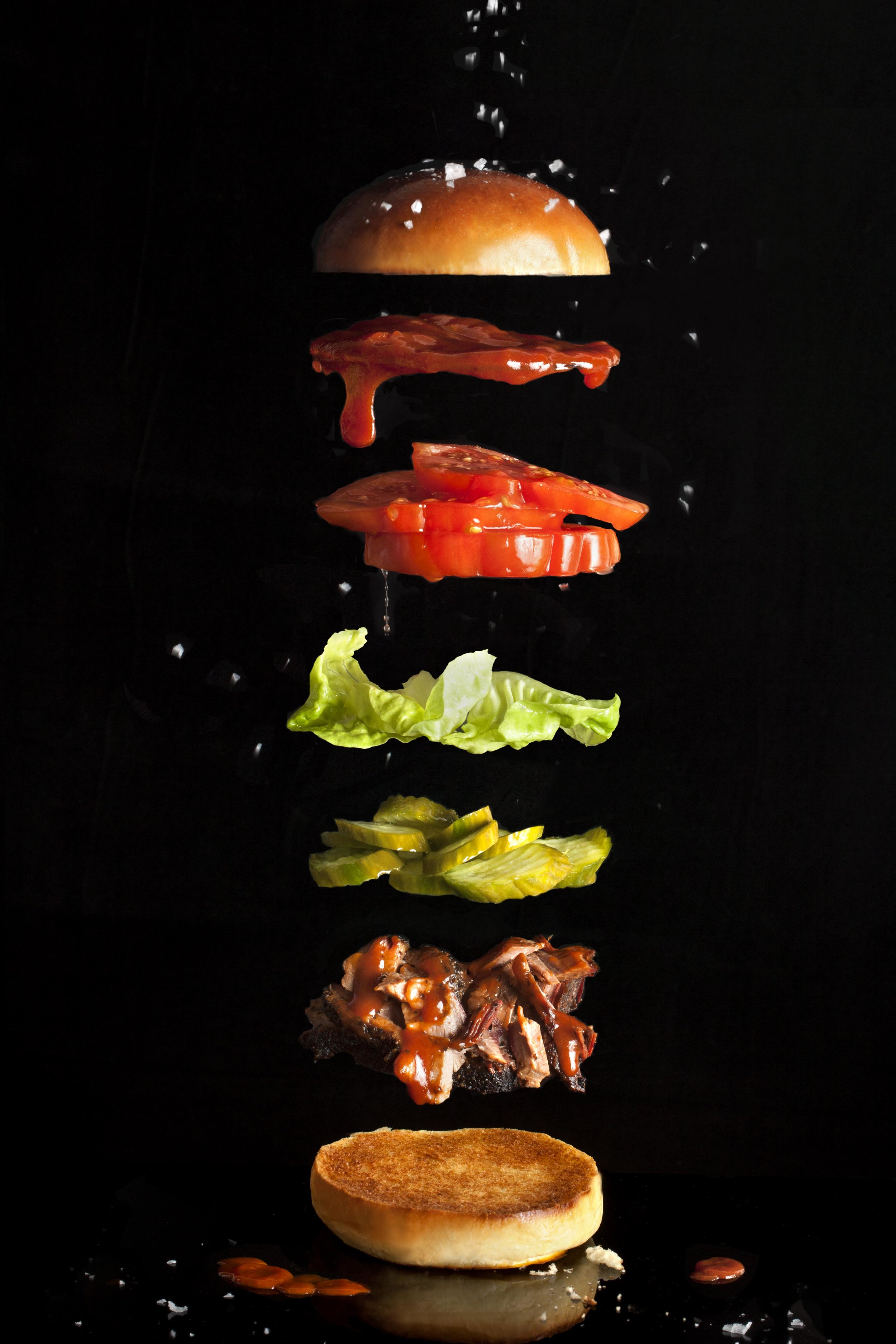Expanded Barbecue Sandwich