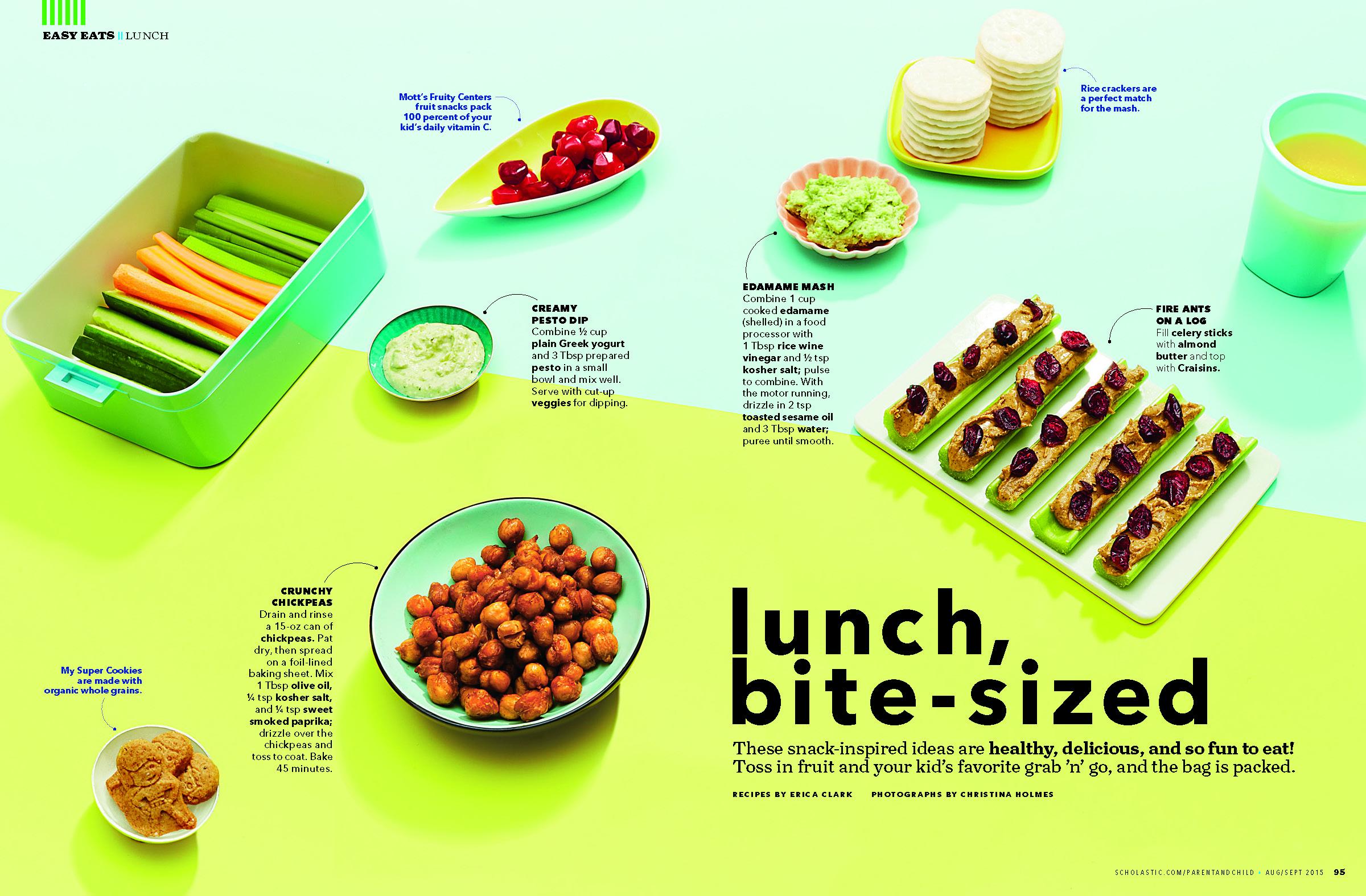 School Lunch Box, Parent & Child Magazine