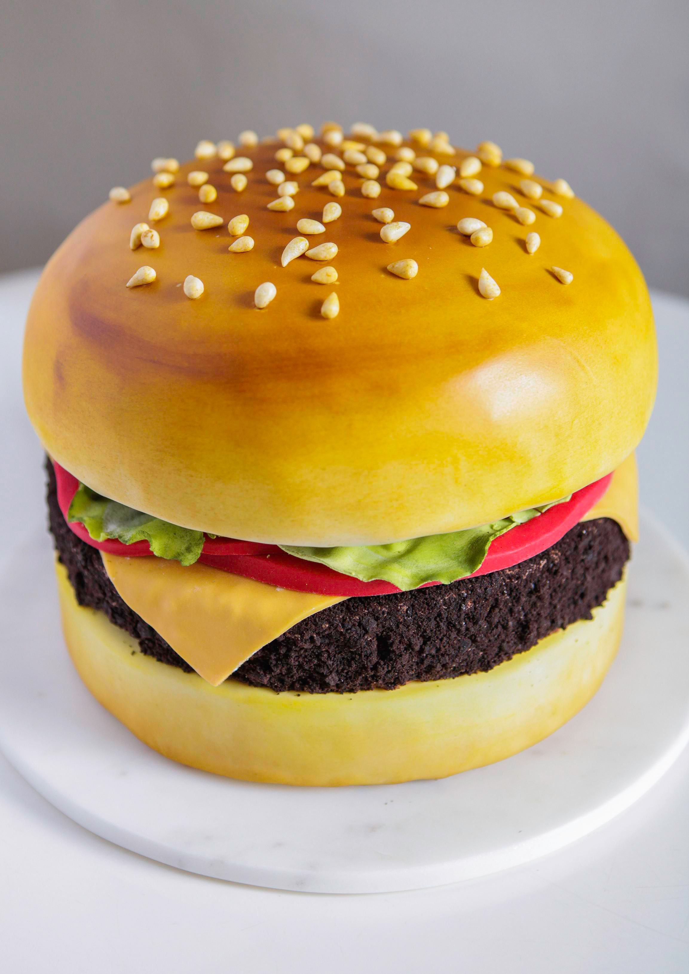 Cheeseburger Cake, Live! with Kelly and Michael