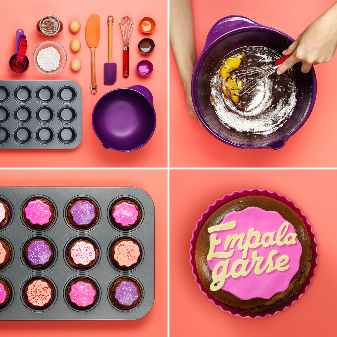 (Empalagarse) Cupcake, Target #SinTradución Social Media Campaign