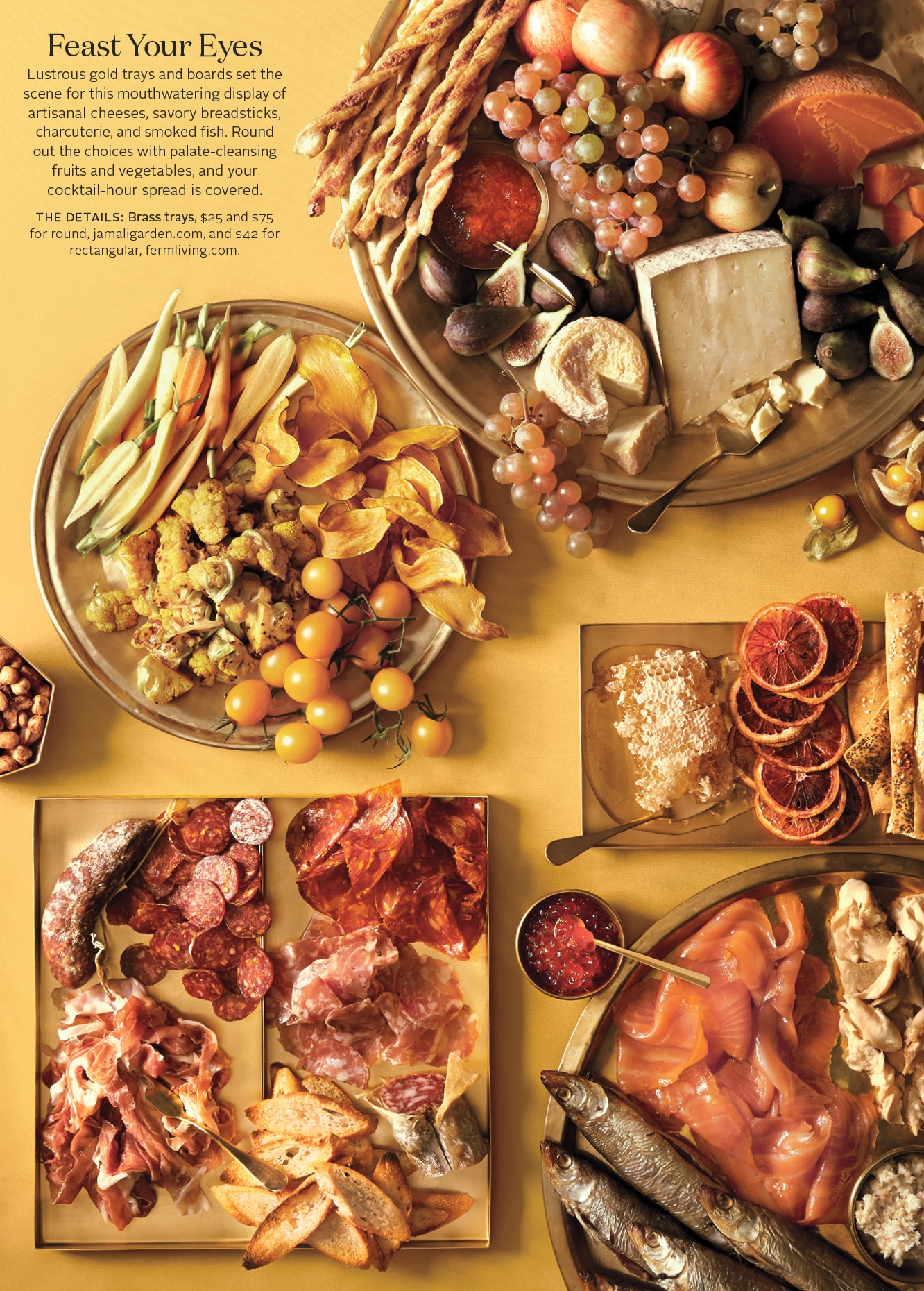 Hors d'Oeuvres, Color Palette, Martha Stewart Weddings