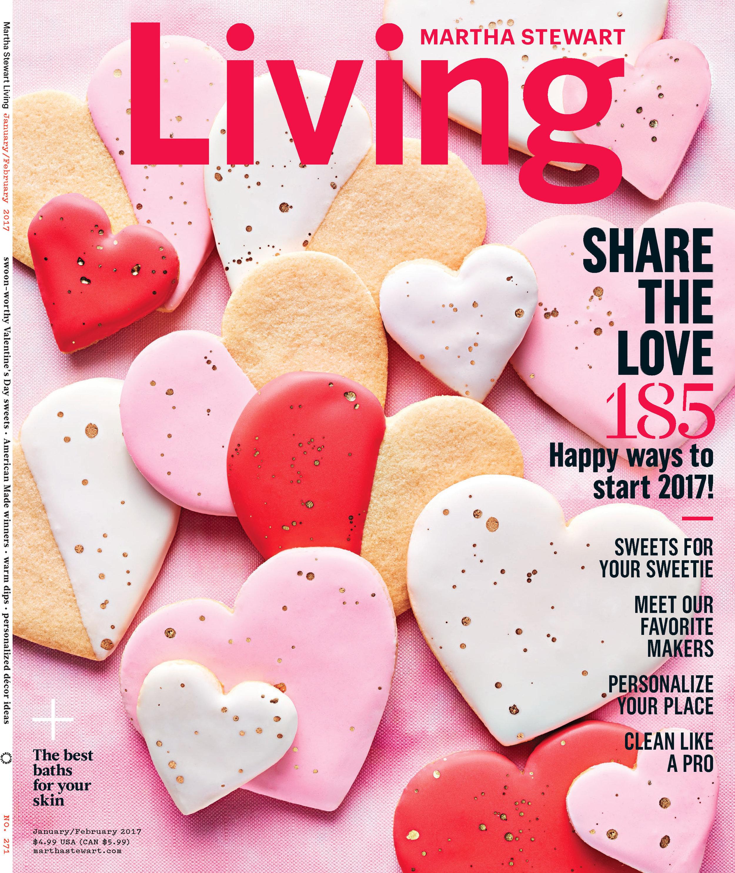 Valentines Day Cookies, Martha Stewart Living