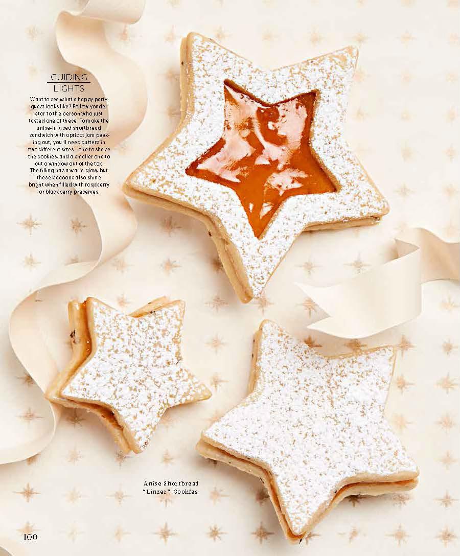 Linzer Star Cookies, Martha Stewart Living