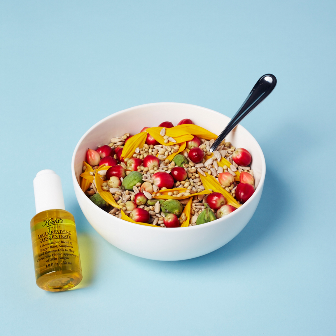 Kheil's Daily Reviving Concentrate Ad: Cereal