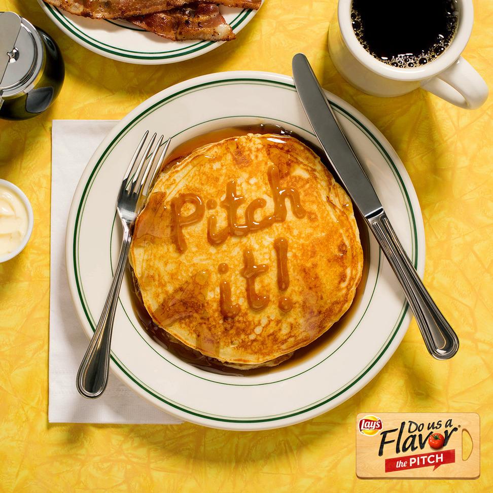 "Lay's ""Pitch It!"" Pancakes"