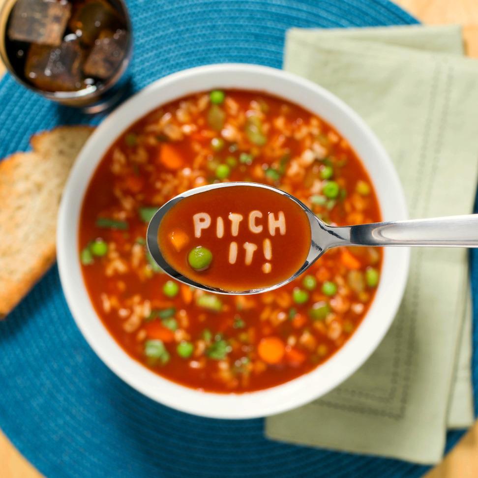 "Lay's ""Pitch It!"" Alphabet Soup"