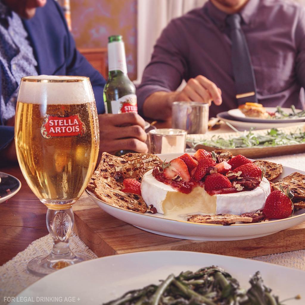 Dinner Party Dessert, Stella Artois